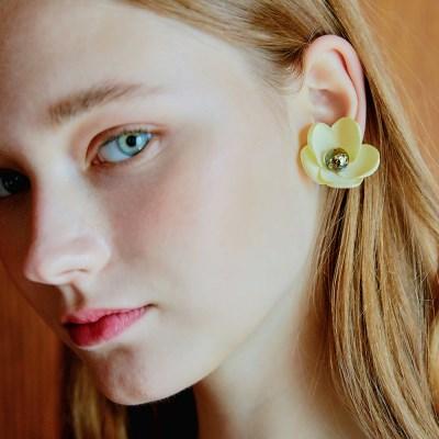 Blossom Snowball Earrings