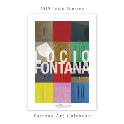 [2019 명화 캘린더] Lucio Fontana 루치오 폰타나 Type B