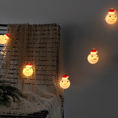 크리스마스 눈사람 LED 전구(20구)