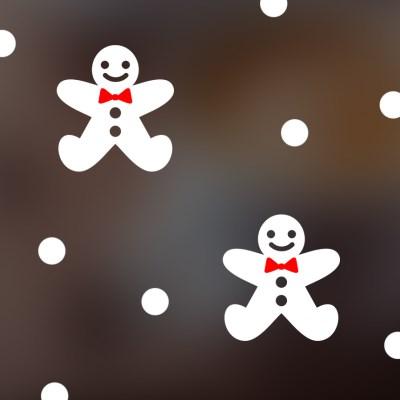크리스마스 진저맨 스티커 xms017