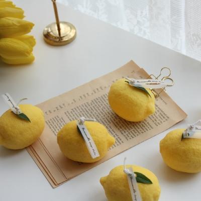 레몬 캔들