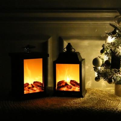 겨울에도 따뜻한느낌 벽난로 조명장식 [2type]_(613955)