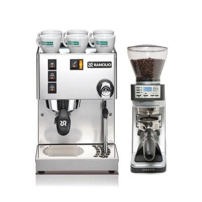 란실리오 실비아 커피머신+바라짜 세테 270W 그라인더 세트