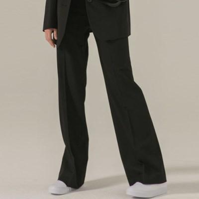 [브로우엔드] BASIC STRAIGHT PANTS - BLACK