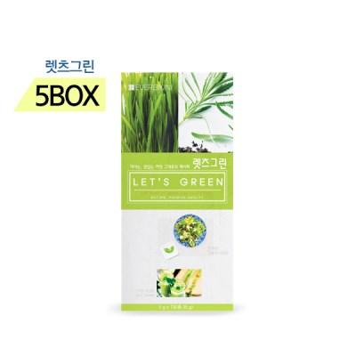에버비키니 유기농 밀싹 클렌즈 렛츠 그린 7포 X 5박스