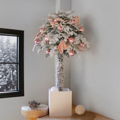 토피어리 트리-핑크 장식 SET(150cm)