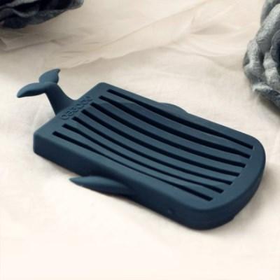 미킵 실리콘 고래 비누받침대 홀더 트레이