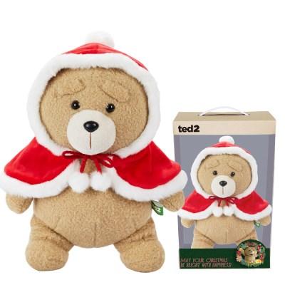 19곰테드 겨울한정 빨간망토 곰인형 30CM_(1020249)