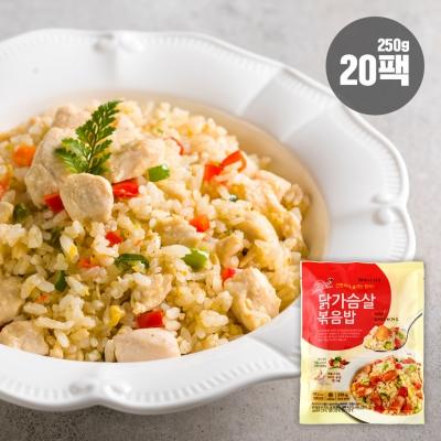 [헬스앤뷰티]슬림 닭가슴살볶음밥 20팩