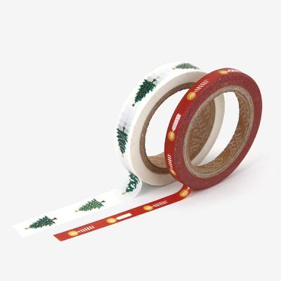 Masking tape christmas - 05 Tree