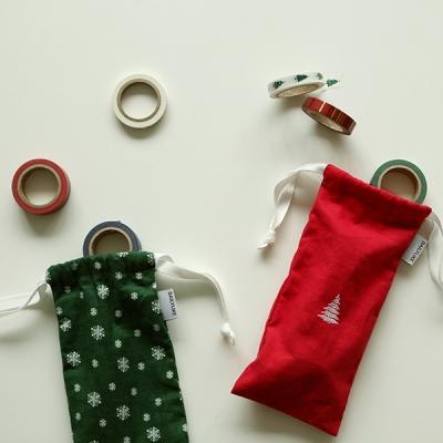 [텐바이텐 단독] 마스킹 테이프 크리스마스 9P set (파우치 증정)