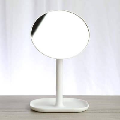 HY2 360 회전 라운드화장거울 화이트