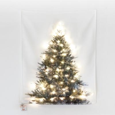 [키미티즈] 크리스마스 패브릭트리 전구포함(50p)