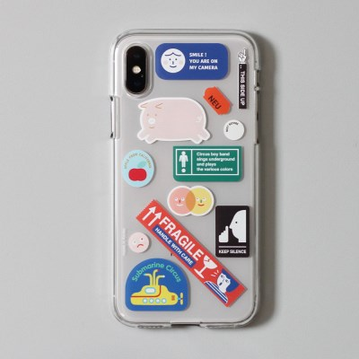CBB SC Sticker boy_jelly case