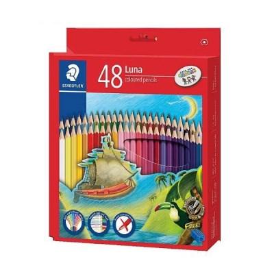스테들러 루나색연필 48색세트 136C48 LUNA