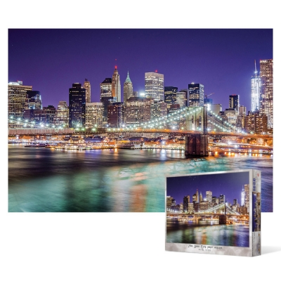1000피스 직소퍼즐 - 밤의 도시 뉴욕