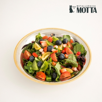 모타 산마르코 골드 원형 접시 24 스텐 접시