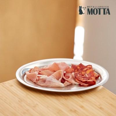 모타 모던 타원형 접시 23 스텐 접시