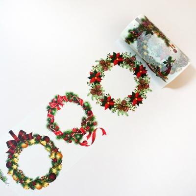빅사이즈 9cm*5m 크리스마스 마스킹테이프_(1054972)