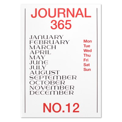 Journal365 No.12-Standard