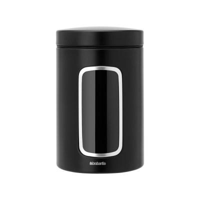 [브라반티아] 윈도우 캐니스터-1.4L (매트블랙)