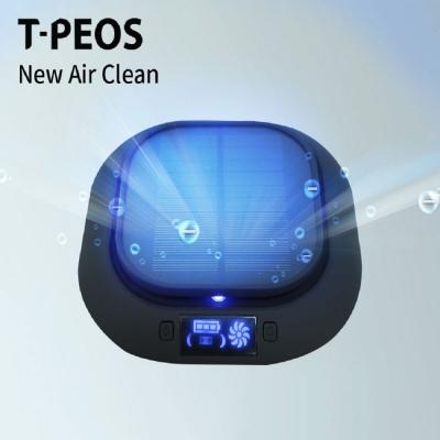 티피오스 태양열 충전 음이온 차량용 공기청정기