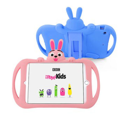 [Ozem] 아이패드 에어2/프로9.7 어린이안전 토끼 실리콘케이스