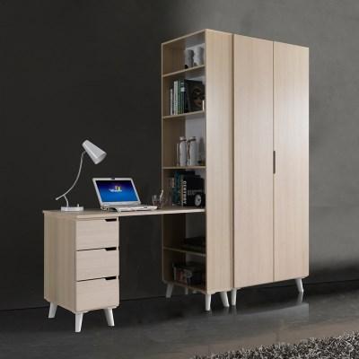 휴비 공부방 세트 H형 책상+장롱 800_(1001454)