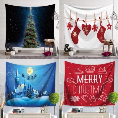 크리스마스 패브릭 트리 포스터 150x130cm 13종