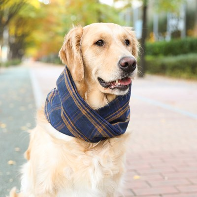 NAVY BENI NECK WARMER
