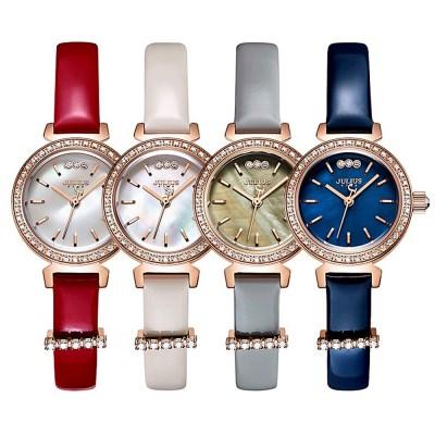 쥴리어스스타 JS012 여성 패션 가죽밴드 손목 시계