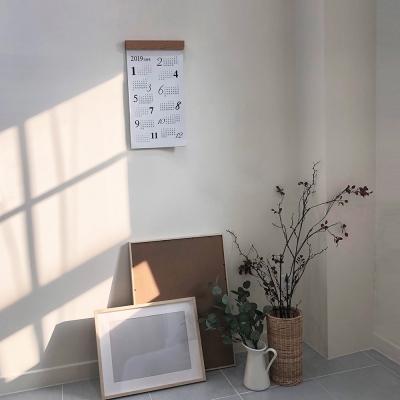 2019 우드스틱프레임 캘린더