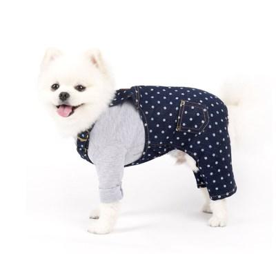 패리스독 강아지옷 도트오버롤_(1013924)