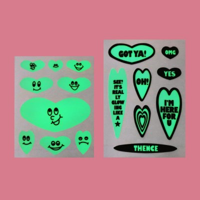 NIGHT GLOW STICKER SET_LOVE MOOD