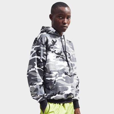 [ROTHCO] CAMO PULLOVER HOODED SWEATSHIRT (CITY CAMO)