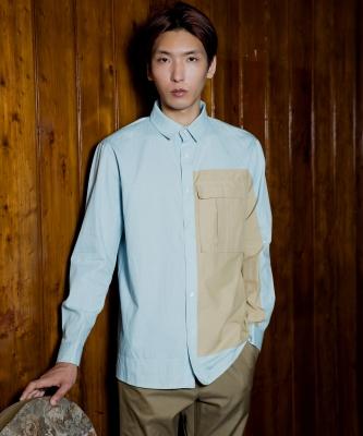 [북온더파크]DESERT SHIRTS 배색셔츠