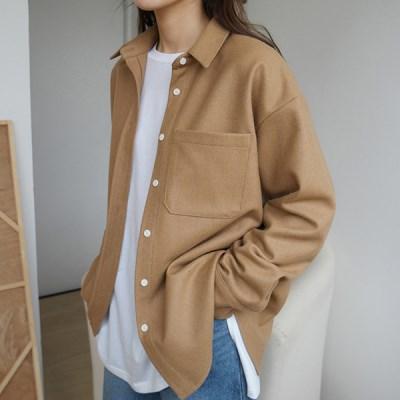 Basic wool shirts