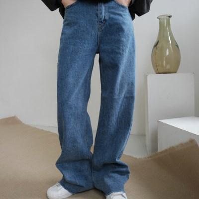 Maxi wide cutting jean