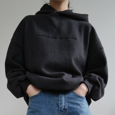 Simple lettering hood