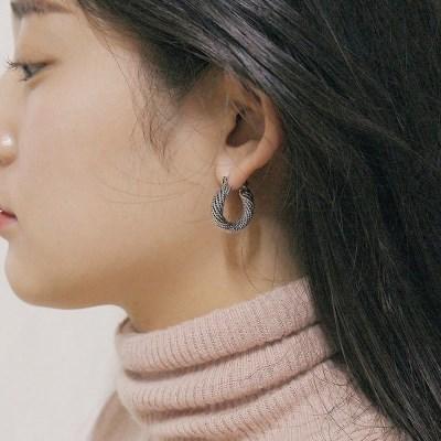 [2컬러]twinkle hoop earring