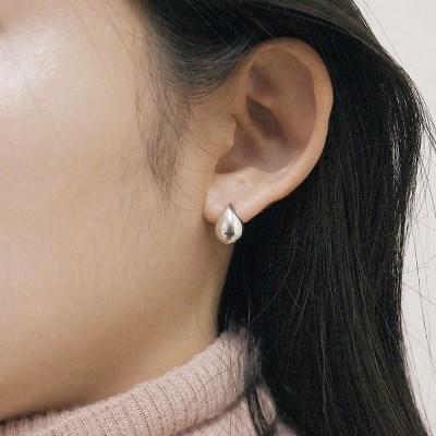 [2컬러]drop silver earring
