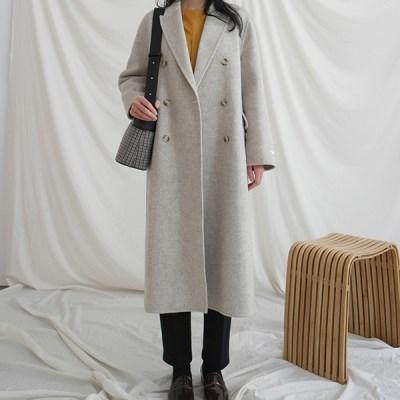 Simple handmade double coat