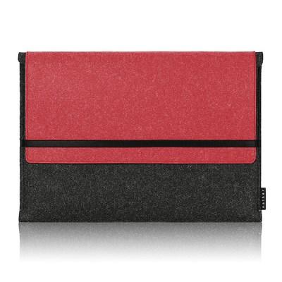 Sleeve for Macbook air & Macbook (Graphite/Red)