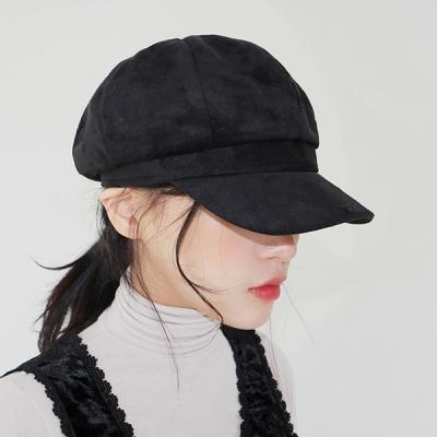 Suede matroos hat