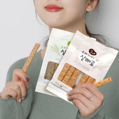 수제발아통밀 귀리스낵 살빼로 70g x 10봉