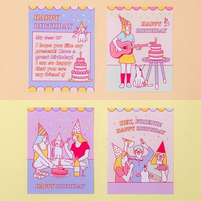 아르디움 생일축하 카드_(1663945)