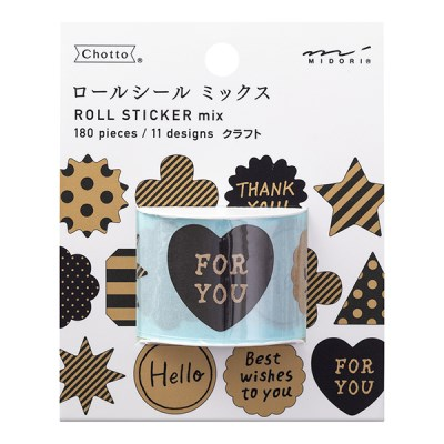 Roll Sticker - Mix Craft