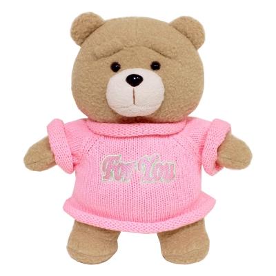 19곰테드 크리스마스 핑크니트 곰인형 30CM_(1053175)