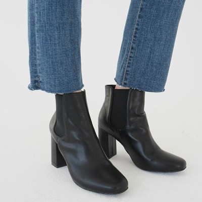 Banding high ankle boots