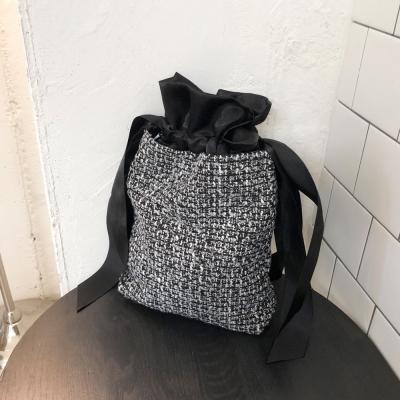 트위드백 Tweed bag - Black